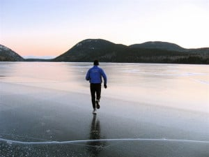 Gary Allen Running Beach
